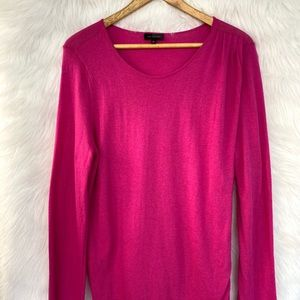 The Limited Sweater Size X-Large Pink Long Sleeves